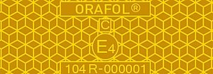 Example: VC104+ Rigid Grade, yellow